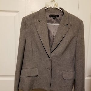 Designer suit blazer